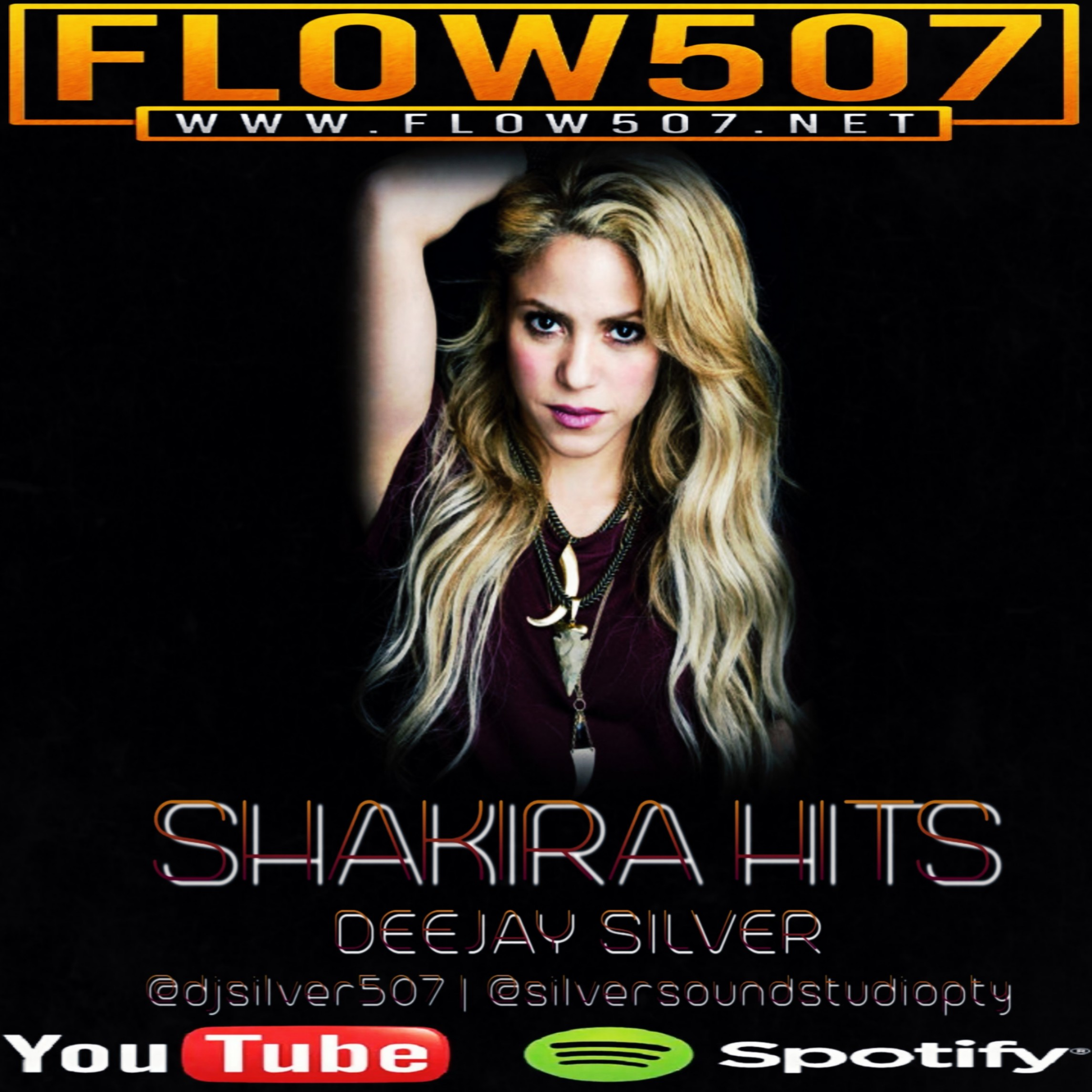 FLOW507.NET - SHAKIRA HITS MIX - DEEJAY SILVER