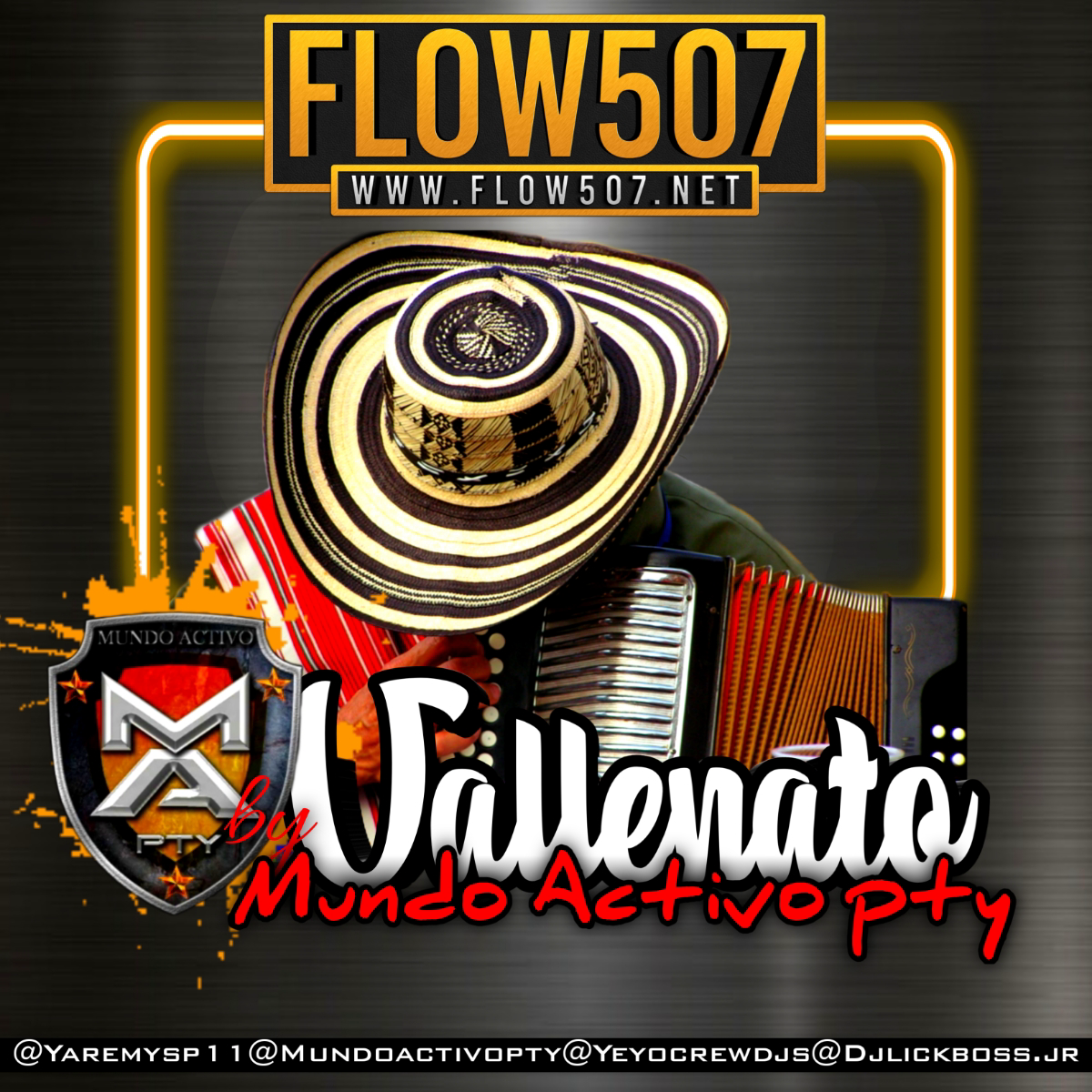 Dj Lickboss Jr - Vallenato Mix By Mundo Activo Pty