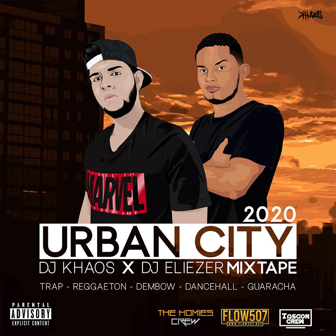 DJ Khaos x DJ Eliezer - Urban City 2020 Mixtape