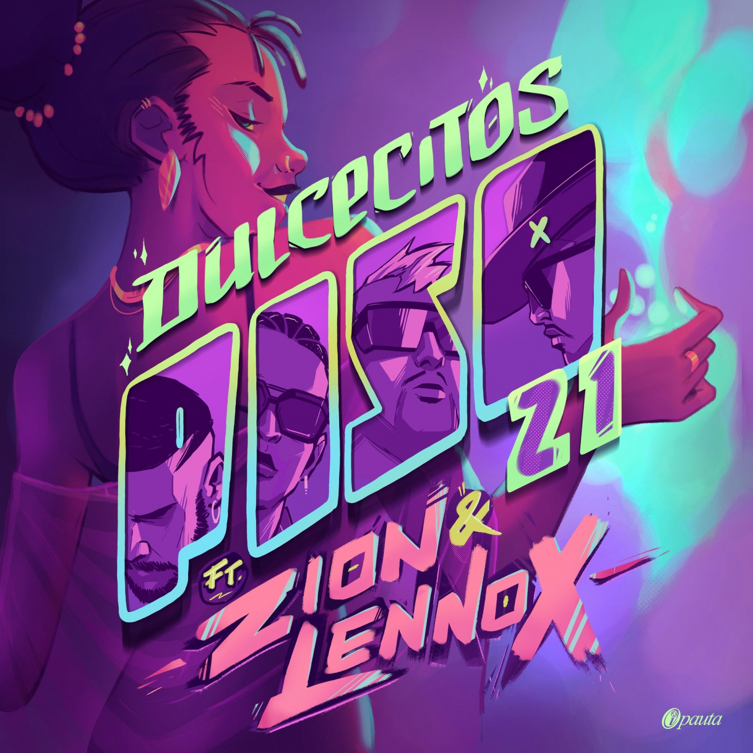 Piso 21 Ft. Zion y Lennox - Dulcecitos