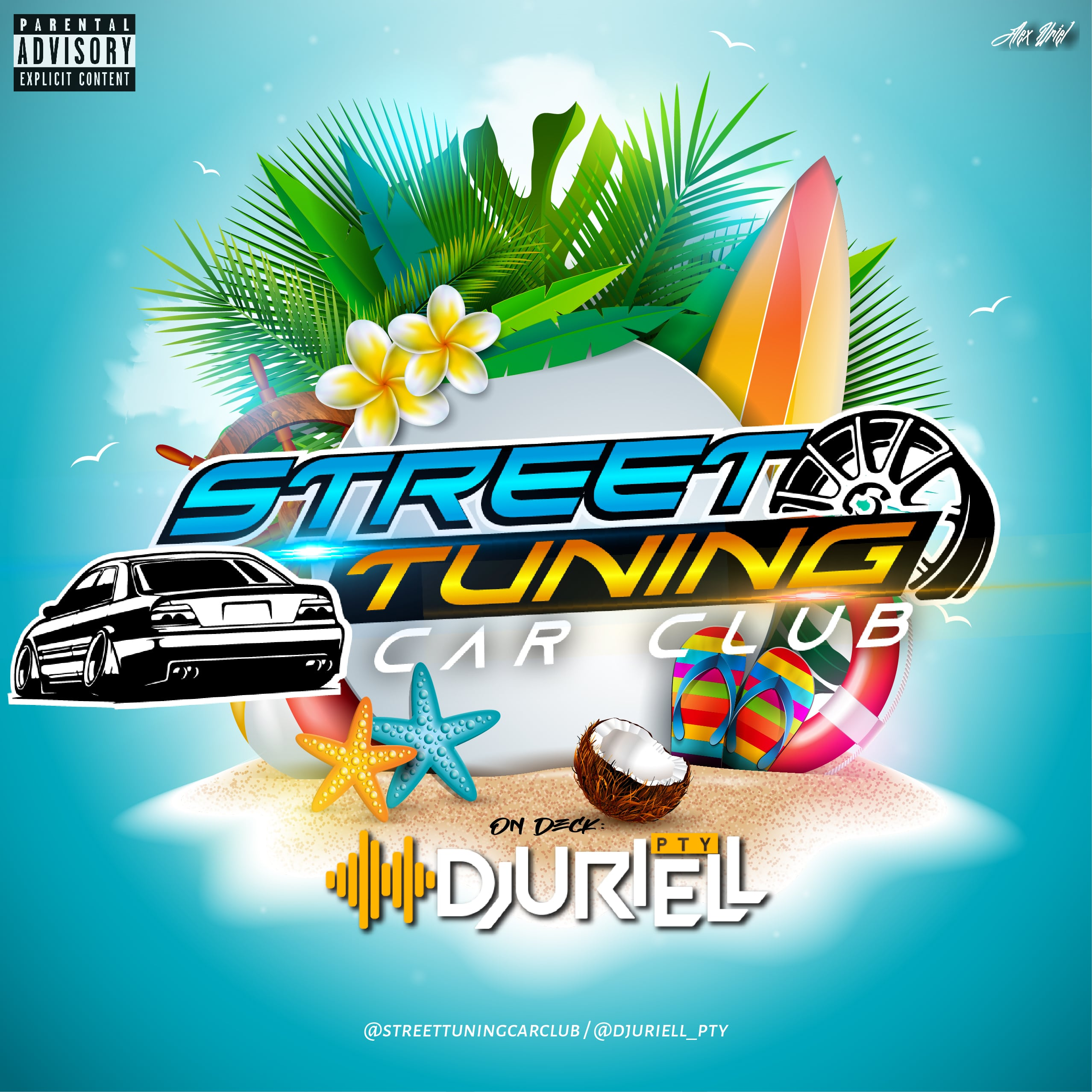 @DjUriell_Pty - Street Tuning Car Club