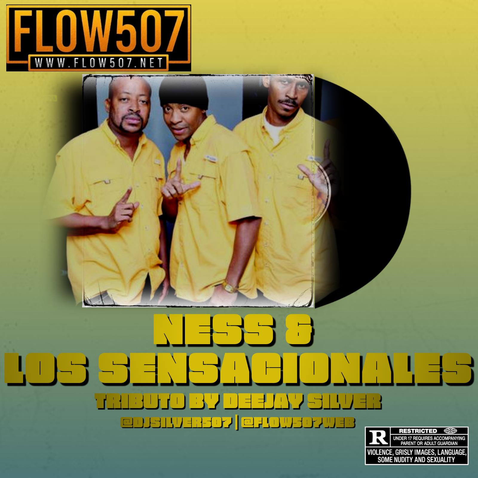 DEEJAY SILVER - NESS & LOS SENSACIONALES MIX