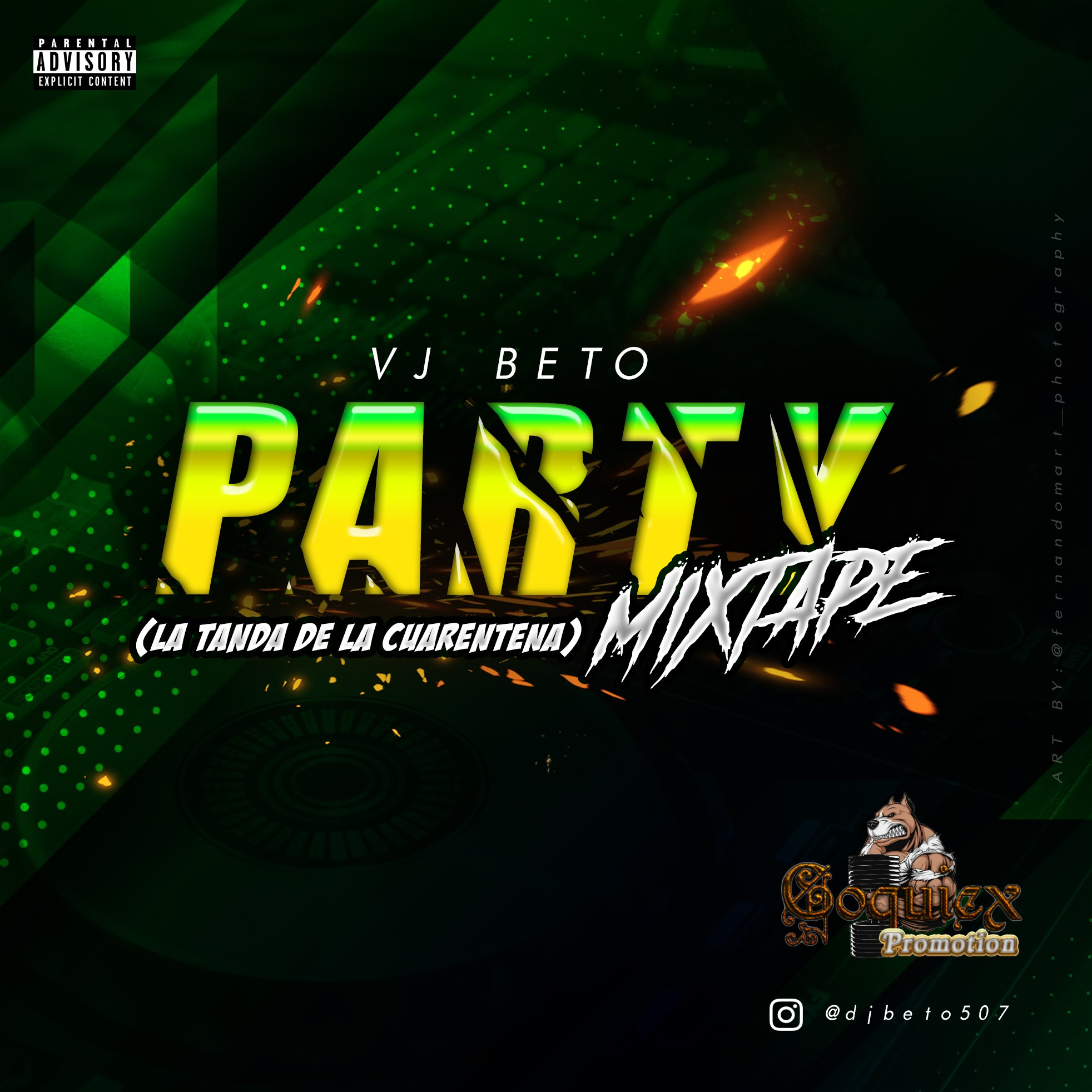 Vj Beto - Party Mixtape (La Tanda de la Cuarentena)