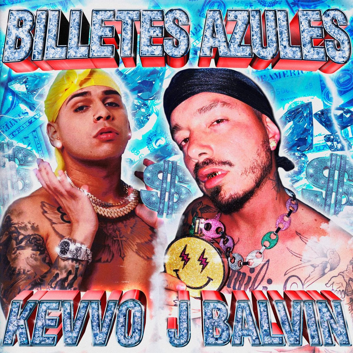 Kevvo Ft. J Balvin - Billetes Azules