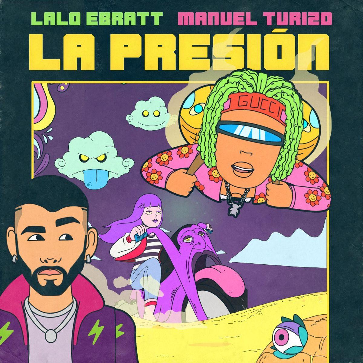 Lalo Ebratt, Manuel Turizo - La Presión