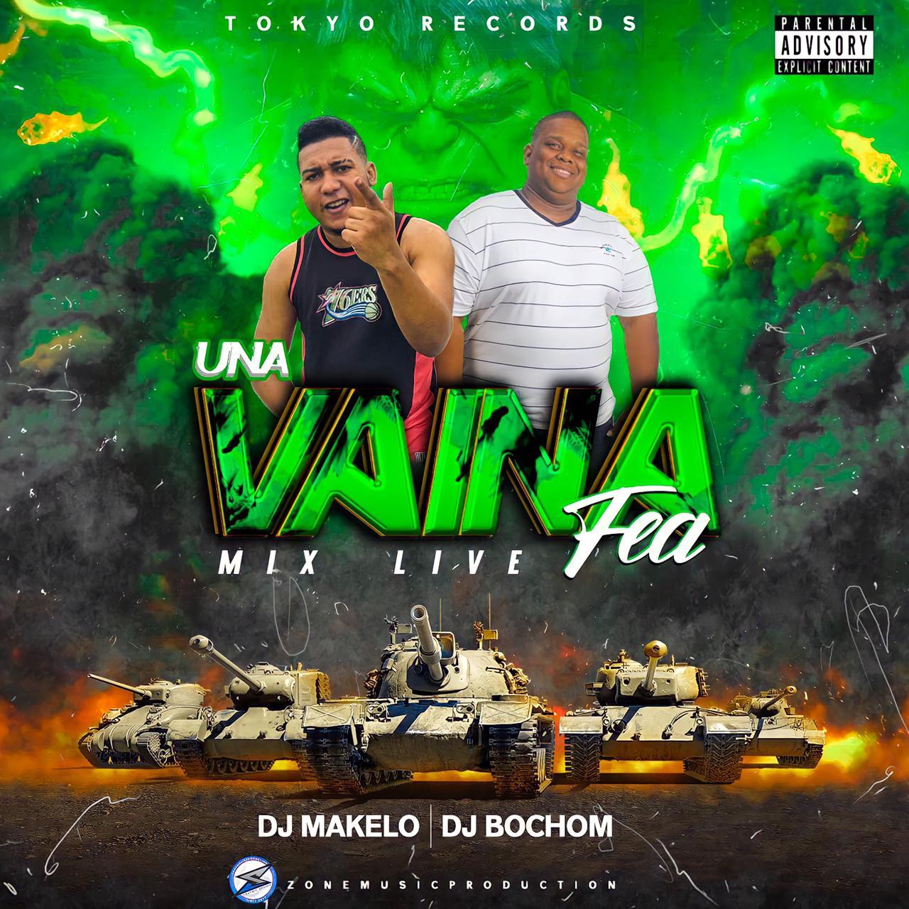@DjBochom Ft @DjMakelo - Una Vaina Fea Mix Live