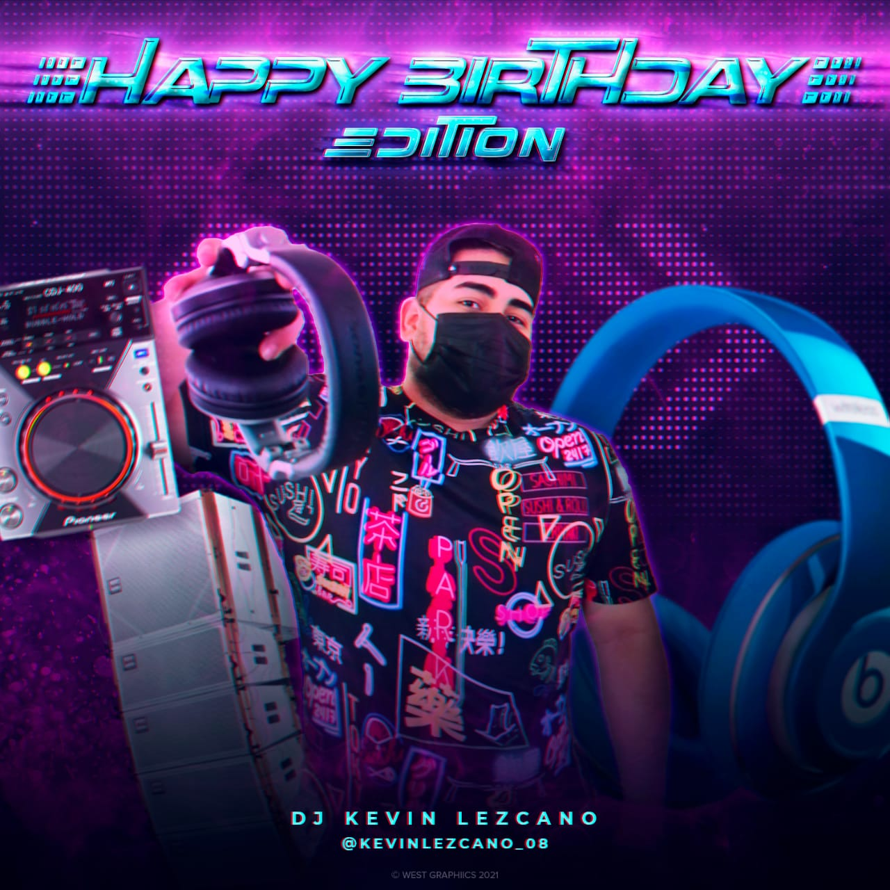 Dj Kevin Lezcano - Happy Birthday Edition