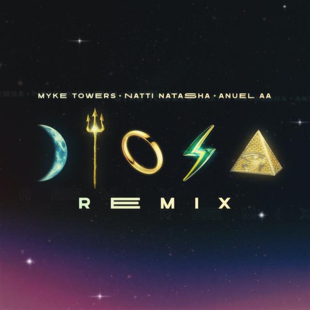 Myke Towers Ft. Anuel AA y Natti Natasha - Diosa Remix