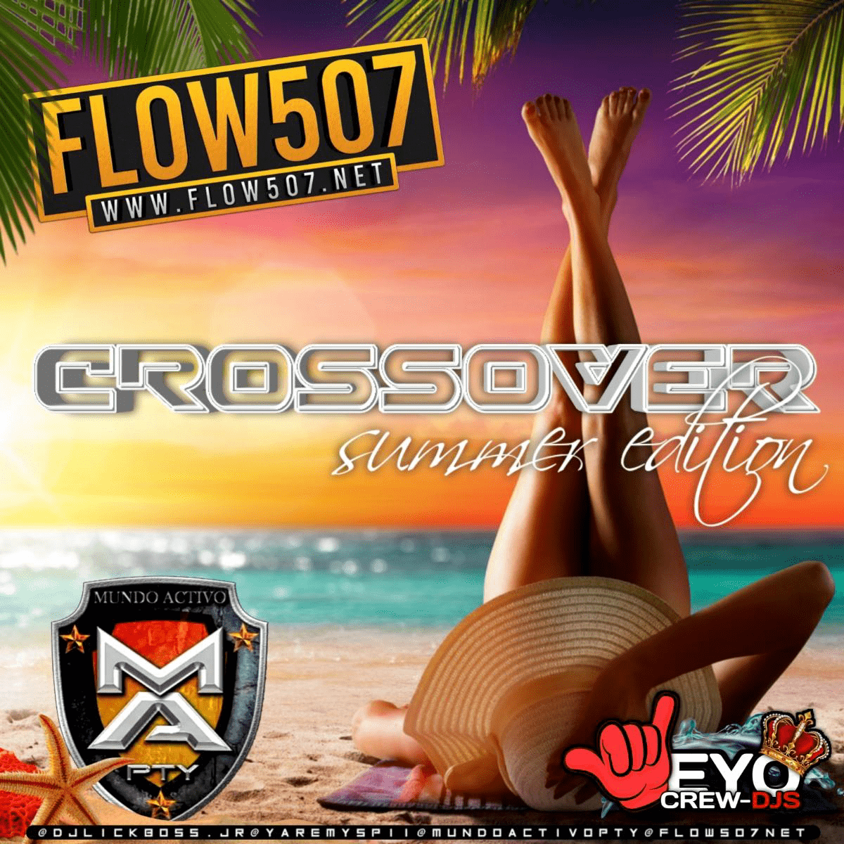 @DJLICKBOSS.JR - CROSSOVER SUMMER EDITION BY MUNDO ACTIVO