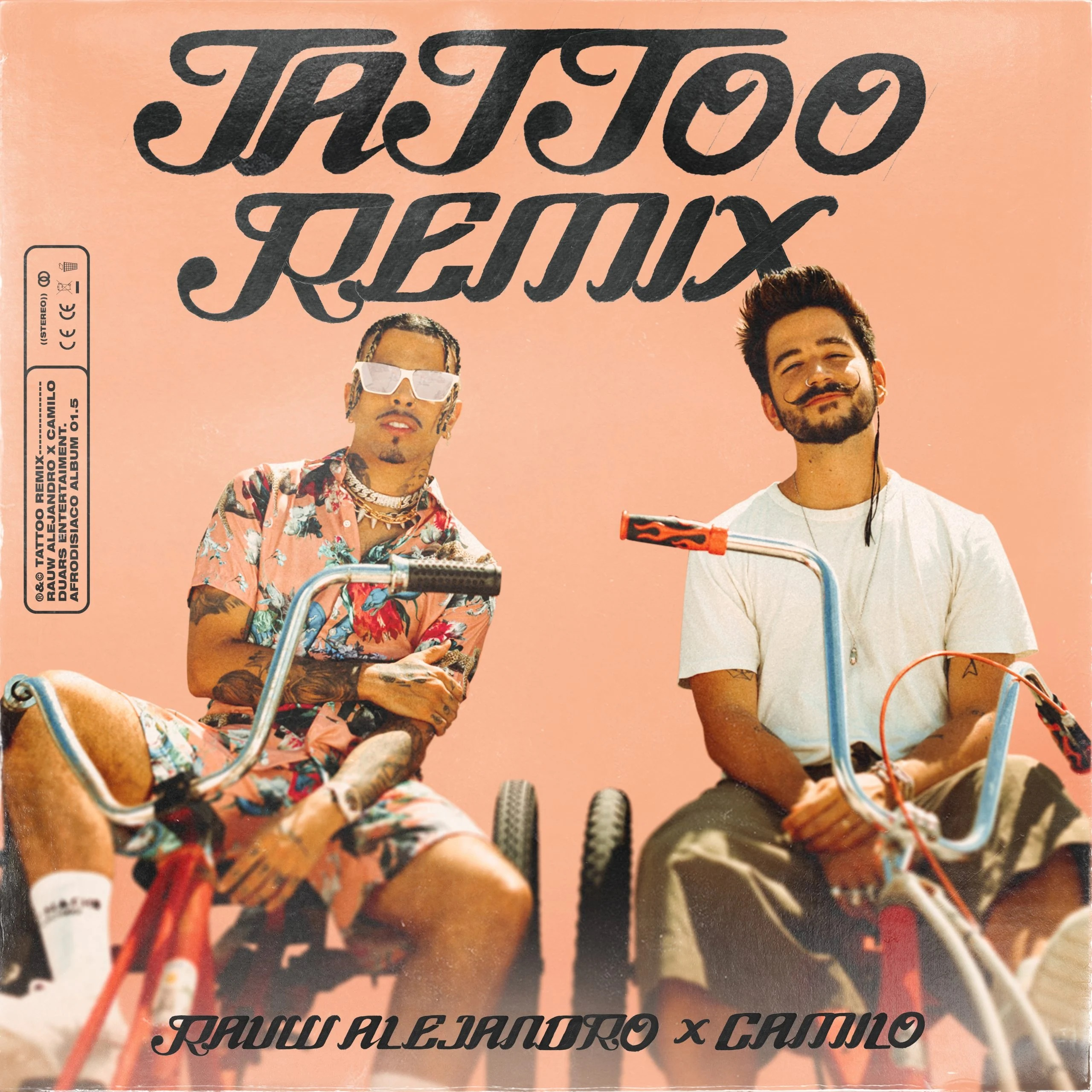 Rauw Alejandro Ft. Camilo - Tattoo (Official Remix)
